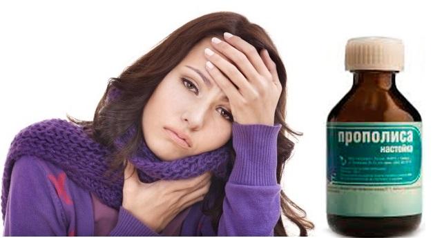 Прополис при лечении хронического тонзиллита